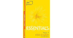 Amazon.com: KS3 Essentials English Year 7 Course Book (Key Stage Year 7  Essential Course Books) (9781905896653): McDonald, Averil, Johnson, Robert:  Books