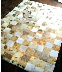 cowhide area rug metallic rug modern area rugs threshold natural silver cowhide brown and white cowhide