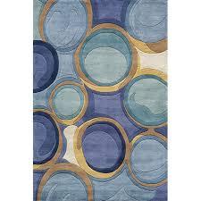 cool blue mobi rug