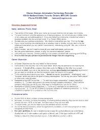 Resume Sample Canada Nardellidesign Com