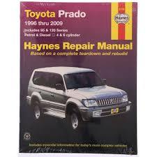 Haynes Service & Repair Manual - Toyota Prado 1996-2006 - Workshop ...
