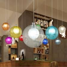 verre multicolore unique lampe