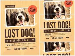 how to make lost dog flyers lost dog flyer template 1 when your is or missing minutes count