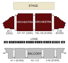 Town Hall Theater New York Ny Seating Chart Stage