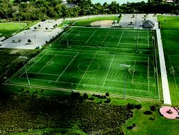 Outdoor Artificial Turf Kiefer USA Sports Flooring Athletic