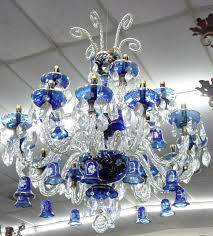 blue chandelier light cobalt blue glass crystal chandelier blue chandelier light bulbs