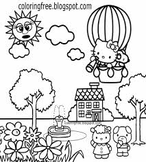Simply click on the printable hello kitty coloring picture you want to color. Free Coloring Pages Printable Pictures To Color Kids Drawing Ideas Hello Kitty Coloring Sheets Free Cute Printables For Teenage Girls