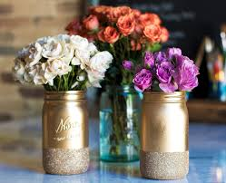 Decorated Jars For Weddings Homemade Mason Jar Centerpieces For Bridal Shower Mason Jar Crafts 77