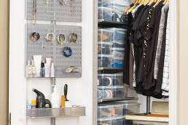 closet organizers a mini master entry closet are uncluttered in a new york minute
