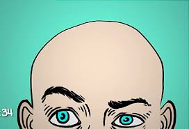 Image result for can work make you go bald clipart