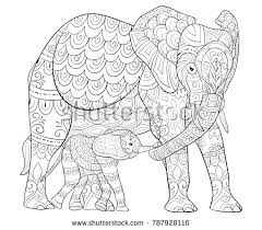 Relaxation Coloring Pages Relaxing Collection Elephant Chronicles