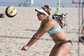 US beach volleyball star April Ross ...