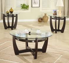 coffee table tanner round coffee table glass set steve pottery barn