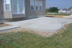 Plain Concrete Patios