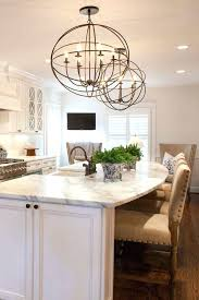 crystal chandelier over kitchen island crystal lighting for kitchen island photo inspirations