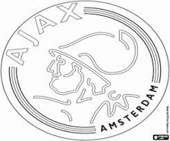 Kleurplaat Ajax Embleem Kleurplaten