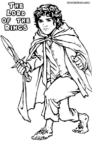 Small Picture Lord of the Rings coloring pages Coloring pages to download and
