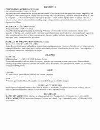 Resume Masters Degree Resume Format For Master Degree Student Fresh Resume Examples 21