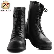 rothco roscoe g i style leather combat boot steel toe black 5092 military forces thing men