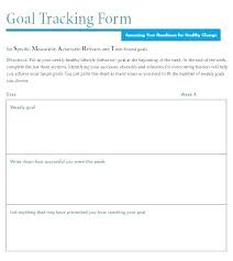 Daily Goals Template Goals For The Week Template Call Tracking Sheet Template
