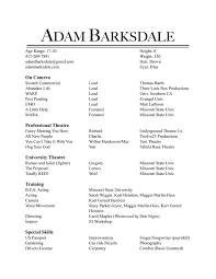 Resume - Adam Barksdale