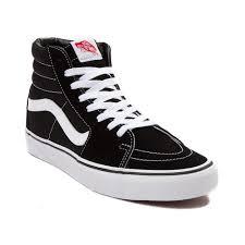 Vans Sk8 Hi Black Journeyscom Alternate View Vans Sk8 Hi Skate Shoe Blackwhite Black 498067