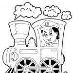 Ns Trein Tekening Kleurplaat Kleurplaat Voor Kinderen