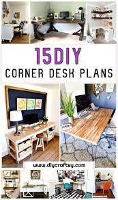 15 diy corner desk ideas diy corner desk plans 15 diy corner desk projects