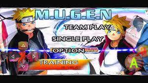 Naruto X Baruto Mugen Apk For Android BVN 3.3 Mod - Apk2me