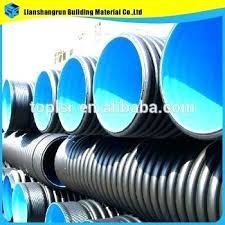 corrugated drain tile gallery of inch drainage pipe inch double wall corrugated drainage pipe perforated with