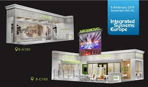 welcome to visit nexnovo s latest designed transpa led displays and cutting edge technology at ise2019 in amsterdam during february 5 8th