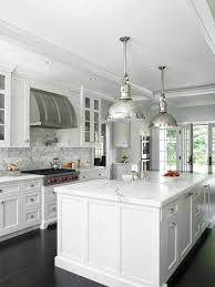 All White Kitchen Designs Decoration Cool Decorating