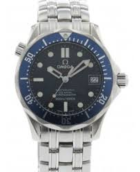 buy pre owned omega watch used omega watches for crown used and certified omega seamaster james bond 300m co axial 2220 80 00 erp51721