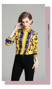 Female Office Shirt Designs Us 17 47 40 Off Vintage Blouse Ladies Office Shirts Womens Tops And Blouses Runway Designer Tops High Quality Women Fashion 2018 Blusas Mujer In