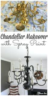 paint brass chandelier forget to pin our easy chandelier makeover spray paint brass chandelier before after paint brass chandelier