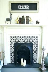 tile fireplace surround ideas glass mosaic simpleminimalist realistic 5