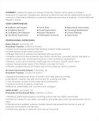 Head Start Teacher Assistant Sample Resume Magnificent Head Start Lesson Plan Template