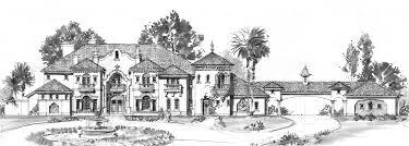 new italian mediterranean revival villa