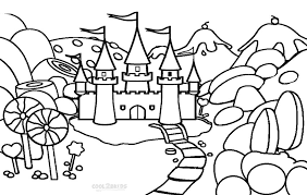 Small Picture Printable Candyland Coloring Pages For Kids Cool2bKids