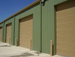 insulated roll up garage doorsAmerican Steel Buildings Overhead  Rollup Doors