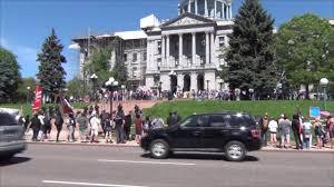 Antifa vs MarchAgainstSharia Denver 6 10 17 YouTube