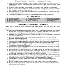 Finance Manager Resume Example Financialller Templates Throughout