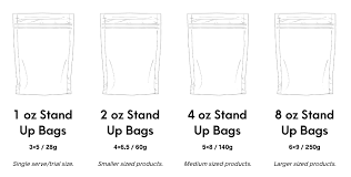Ziploc Size Chart Bath And Body Packaging Packaging Bags For Body Care Products