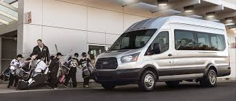 2018 ford transit van. delighful van youth hockey team loading into a passenger wagon with 2018 ford transit van s