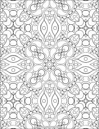 Small Picture Free Adult Coloring Page Abstract Pattern by Thaneeya McArdle