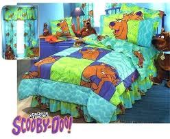 bedroom sets scooby doo bedroom set bedding sets mystery machine kids single duvet quilt post