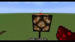 minecraft how to make a self powering redstone lamp street lamp