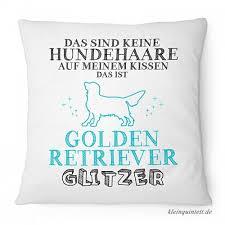 Fashionalarm Kissen Das Sind Keine Hundehaare Golden