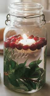 How To Decorate Candle Jars Cranberry Mason Jar Candle Decoration Blog Botanical PaperWorks 60