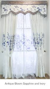 look at the beautiful details as well as the overall style antique sapphire and ivory fabric done in a century southern design auckland new zealand